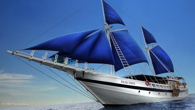 bateau grand luxe pour croisière plongée à Palau