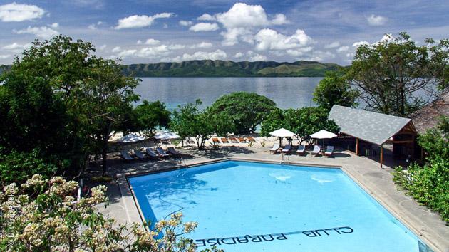 hotel sur le spot de plongée aux Philippines