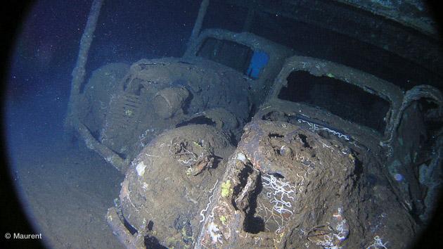 épave en mer rouge découvert pendant la croisière Baron noir