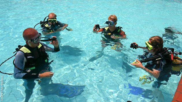 la meilleure formation plongée à Paris