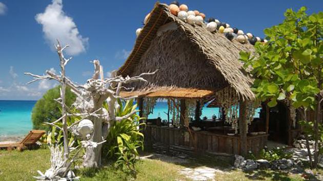 votr pension au bord de l'océan Pacifique pour votre séjour plo,gée en Polynésie