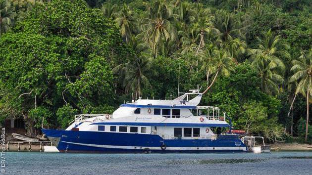 Séjour plongée en Papouasie Nouvelle Guinée, avec hébergement en bateau et hôtel