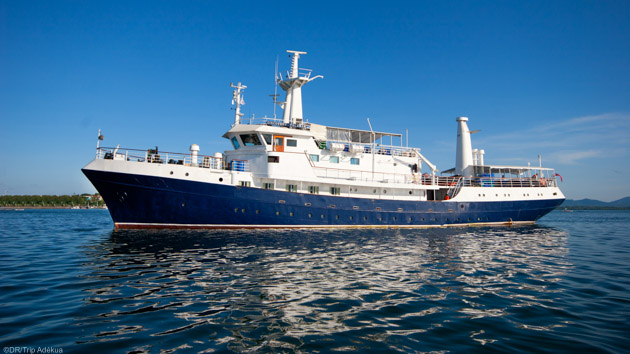 Votre bateau de croisière tout confort pour explorer le récif de Tubbataha
