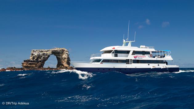 mon bateau pour la croisière plongée aux Galapagos