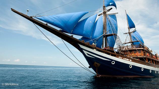 votre bateau pour une croisière de rêve à Komodo pour la plongée