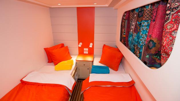 Profitez d'un bateau de croisière tout confort pour votre séjour plongée
