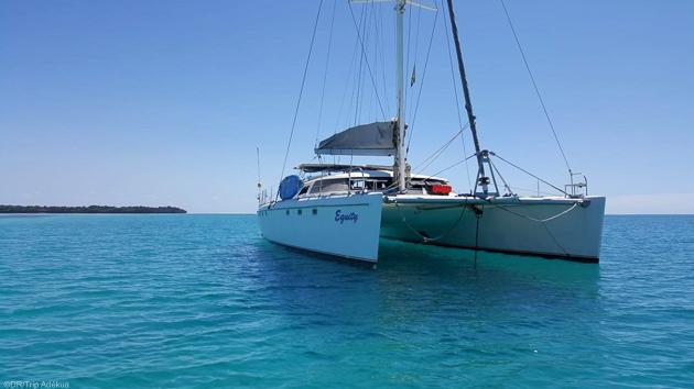 Un catamaran de luxe pour un séjour plongée de rêve