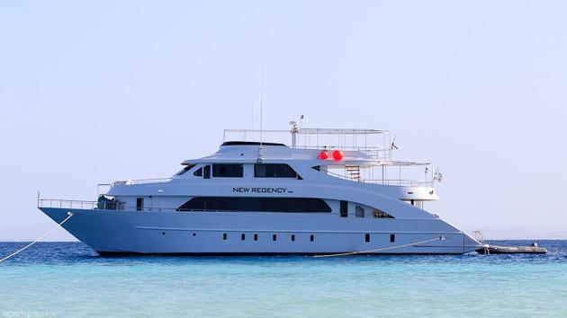 Votre bateau de croisière tout confort pour un séjour plongée en mer Rouge