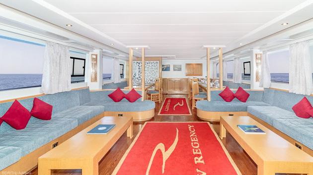 Savourez le confort de votre bateau de croisière au retour des plongées