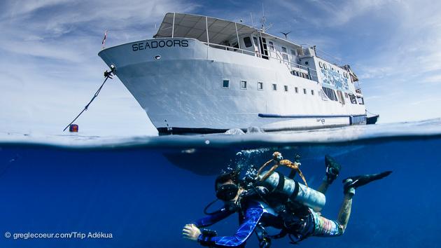 le bateau pour votre croisière plongée aux Philippines