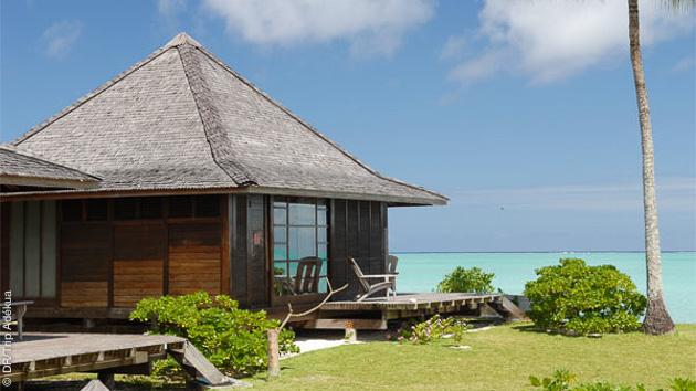 Des hébergement d'exception vous attendent pendant ce séjour plongée à Tahiti
