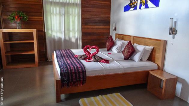 Un charmant hôtel vous accueille pendant votre séjour aux Sulawesi, entre vos plongées découvertes