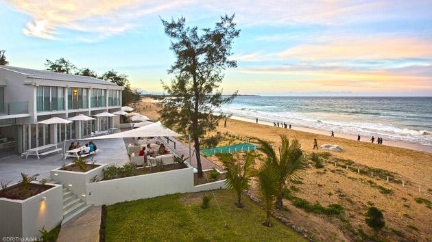 Un hôtel 3 étoiles tout confort à Tofo au Mozambique
