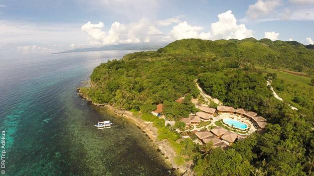 Vos hébergements en resorts grand confort, pour apprécier l'archipel des Visayas entre vos plongées