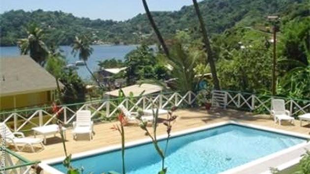 Un charmant hôtel vous accueille pendant votre séjour plongée à Tobago,