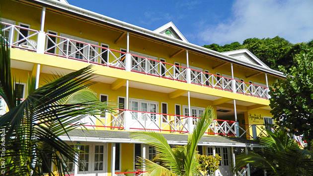 Un hébergement à Quelques mètres de votre centre de plongée à Speyside, Tobago