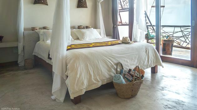 Profitez du confort de votre bungalow entre deux plongées au Mozambique