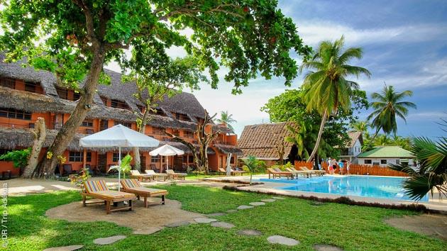 votre hotel à Nosy Be pour vos vacances découverte plongée à Madagascar