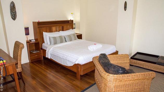 Un combiné entre Rapopo et Tufi, avec hébergement de grand confort, pour ce magnifique séjour plongée