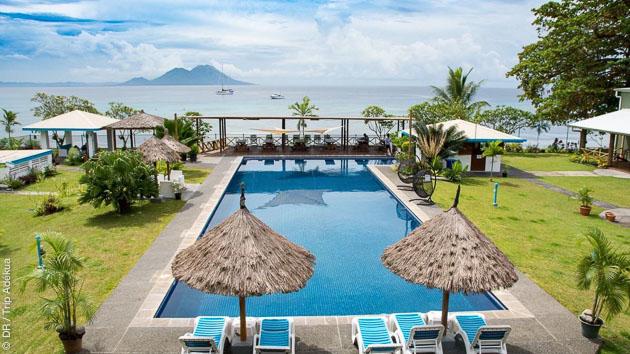 Détendez vous dans les resorts sélectionnés, en Papouasie Nouvelle Guinée, entre vos sessions plongées