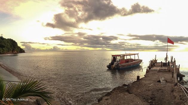 votre bateau pour la plongée à la Dominique