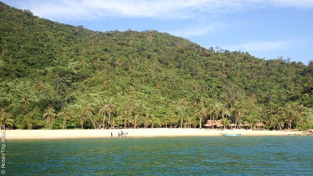 votre centre de plongée sur une plage magnifique de l'archipel de Cham