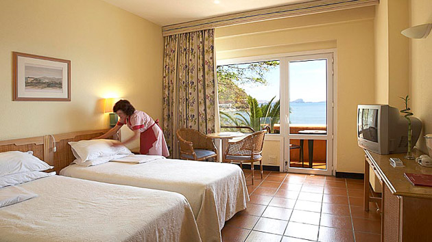Votre hébergement tout confort en hôtel ou appartement pendant votre séjour à Madère