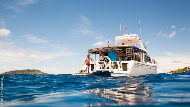 votre bateau de plongée pour vos vacances de rêve