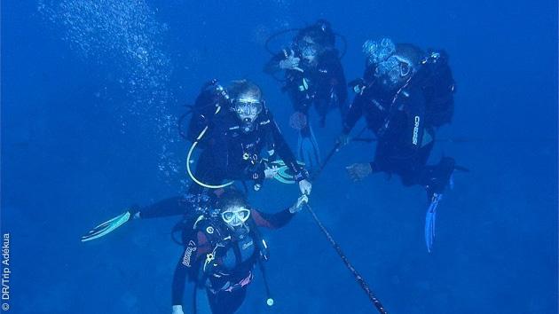 plonger avec un centre francophone au Cap Vert