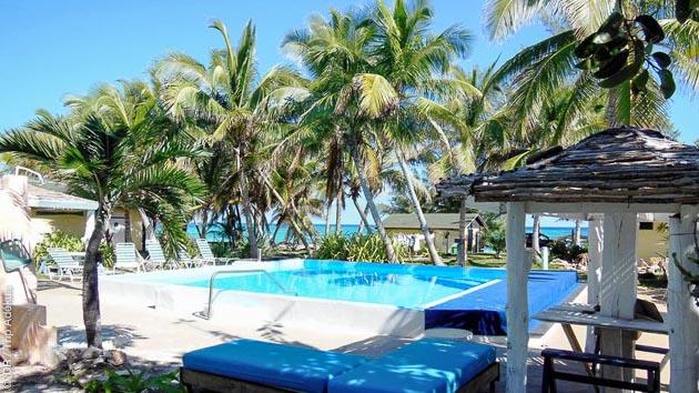 Votre hébergement dans un resort tout confort à Cat Island, pour se reposer entre les plongées