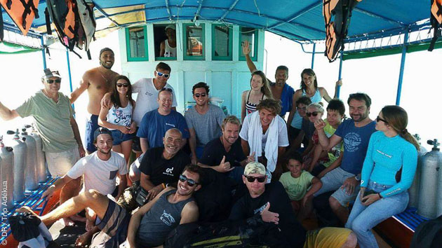 Profitez de 12 plongées inoubliables en Thaïlande