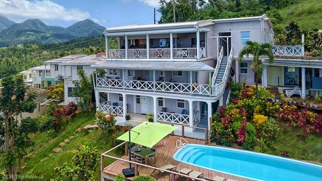 Votre hôtel 3 étoiles tout confort pour votre séjour plongée à La Dominique