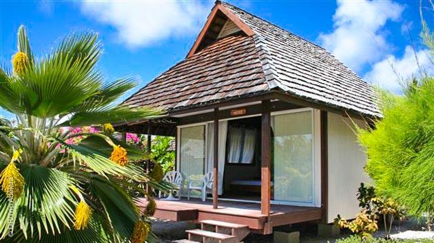 Des hébergements en pensions de famille, pour rencontrer les Polynésiens lors de ces vacances plongée