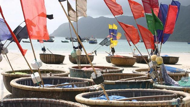 magnifiques plages au Vietnam à Con Dao