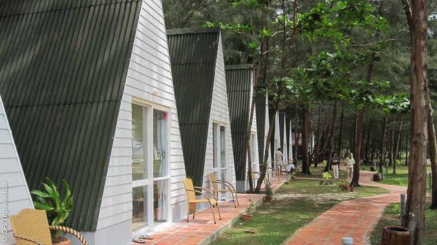 votre logement à Con Dao pou rvotre séjour plongée au Vietnam