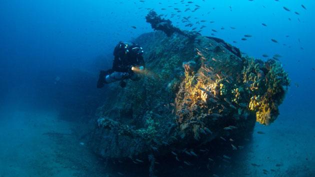 Des plongées à la découverte des épaves des fonds marins de Malte