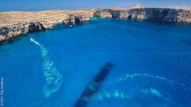 plonger sur des épaves à Malte