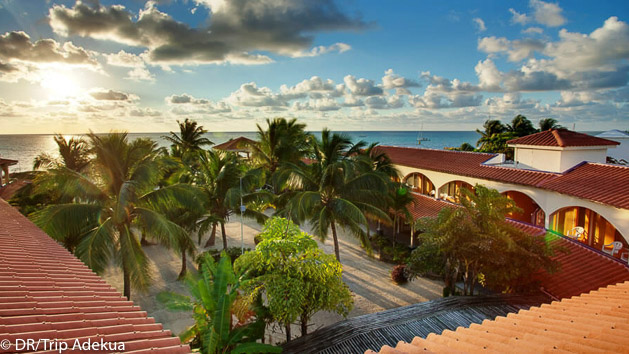Votre hébergement tout confort pour un séjour plongée de rêve au Belize