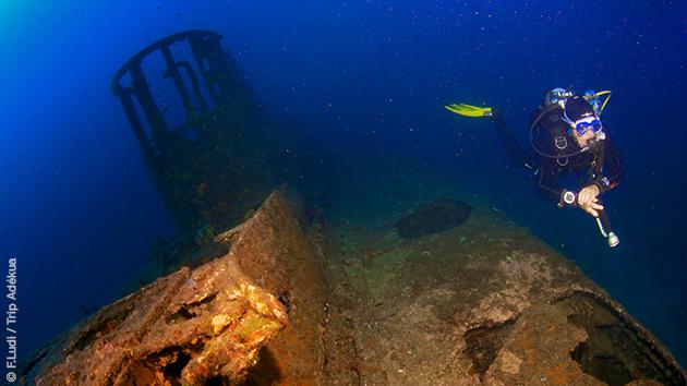Découverte des épaves en Méditerranée, avec ce séjour plongée dans le Var