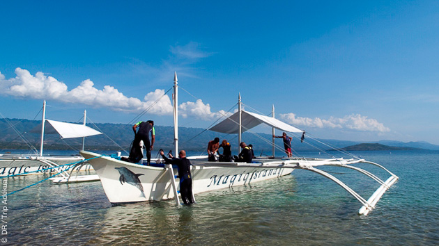 PLongez sur les récifs coralliens des Visayas au cours d'un séjour exceptionnel aux Philippines