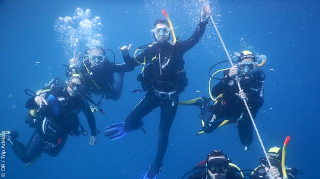Des plongées accessibles à tous niveaux, débutant ou confirmé, entre autres activités proposées pour ce séjour à Gran Canaria
