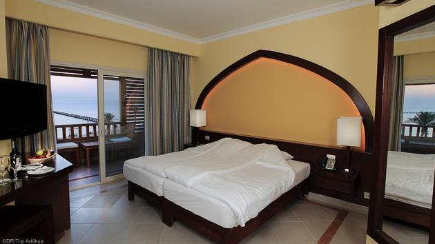 votre chambre et hôtel grand confort à Safaga soma bay
