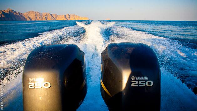Le Musandam offre de beaux paysages, à admirer pendant ce séjour plongée à Oman