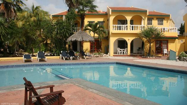 Votre hôtel tout confort pour un séjour plongée à Bonaire dans les Caraïbes