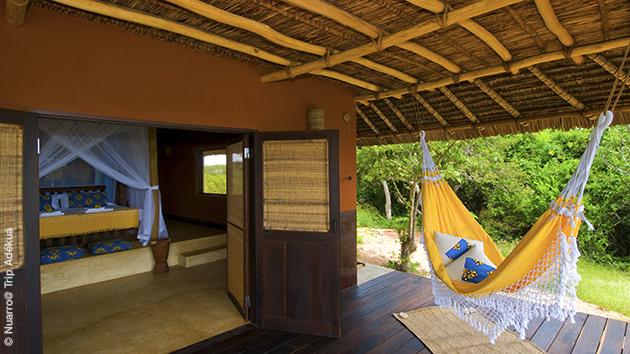 Votre éco-lodge tout confort au Mozambique pour profiter de la plongée dans les eaux de l'océan indien