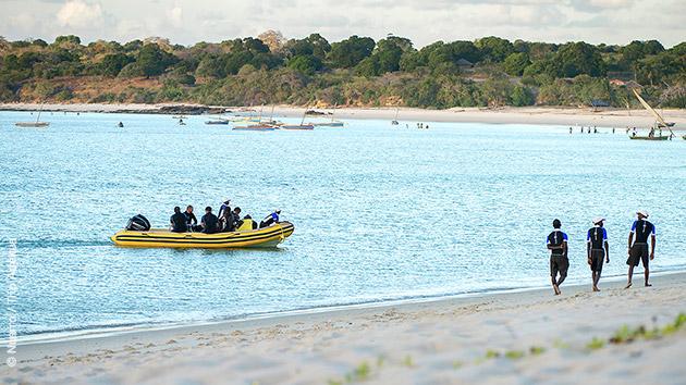 Un séjour plongée accessibles  tous les niveaux, au Mozambique
