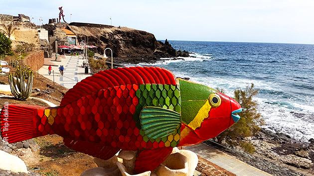 Votre séjour plongée à Playa de Arinaga vous permet de vous détendre et de passer vos diplômes de plongée