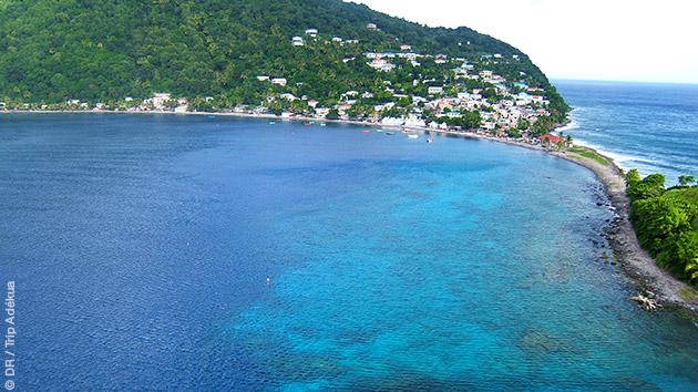Un séjour plongée sur l'île de la Dominique avec ses paysages prérservés