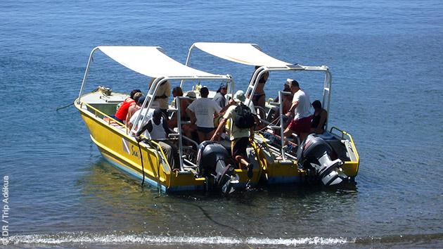 Vous êtes accueillis sur un centre de plongée francophone, en solo ou en groupe, pour nager dans les eaux des Caraïbes