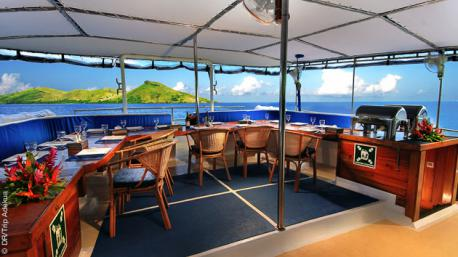 Un voilier superbe pour cette magnifique croisière plongée aux iles Fidji